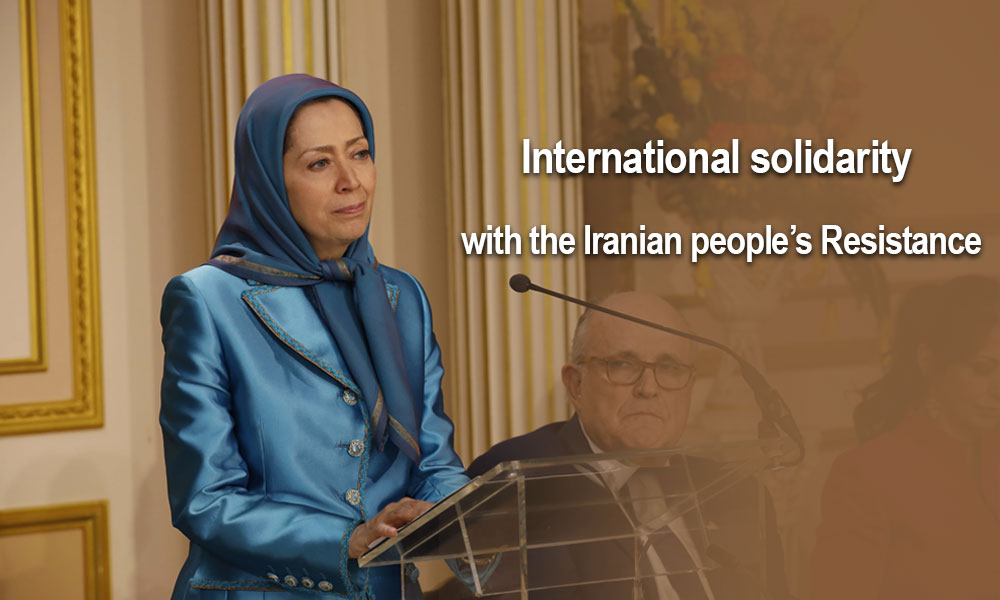 International solidarity with the Iranian people's Resistance