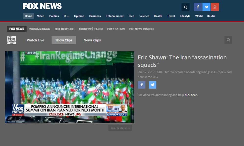 "FOX NEWS: The Iran ""assasination squads"""