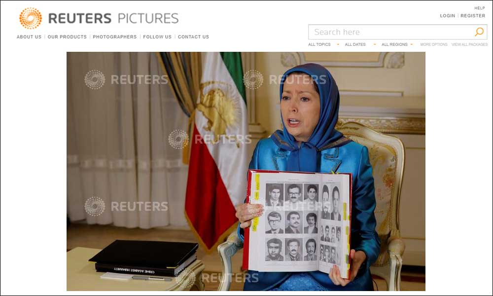 Maryam Rajavi in an interview with Reuters: Overthrow of Iran's rulers has never been closer