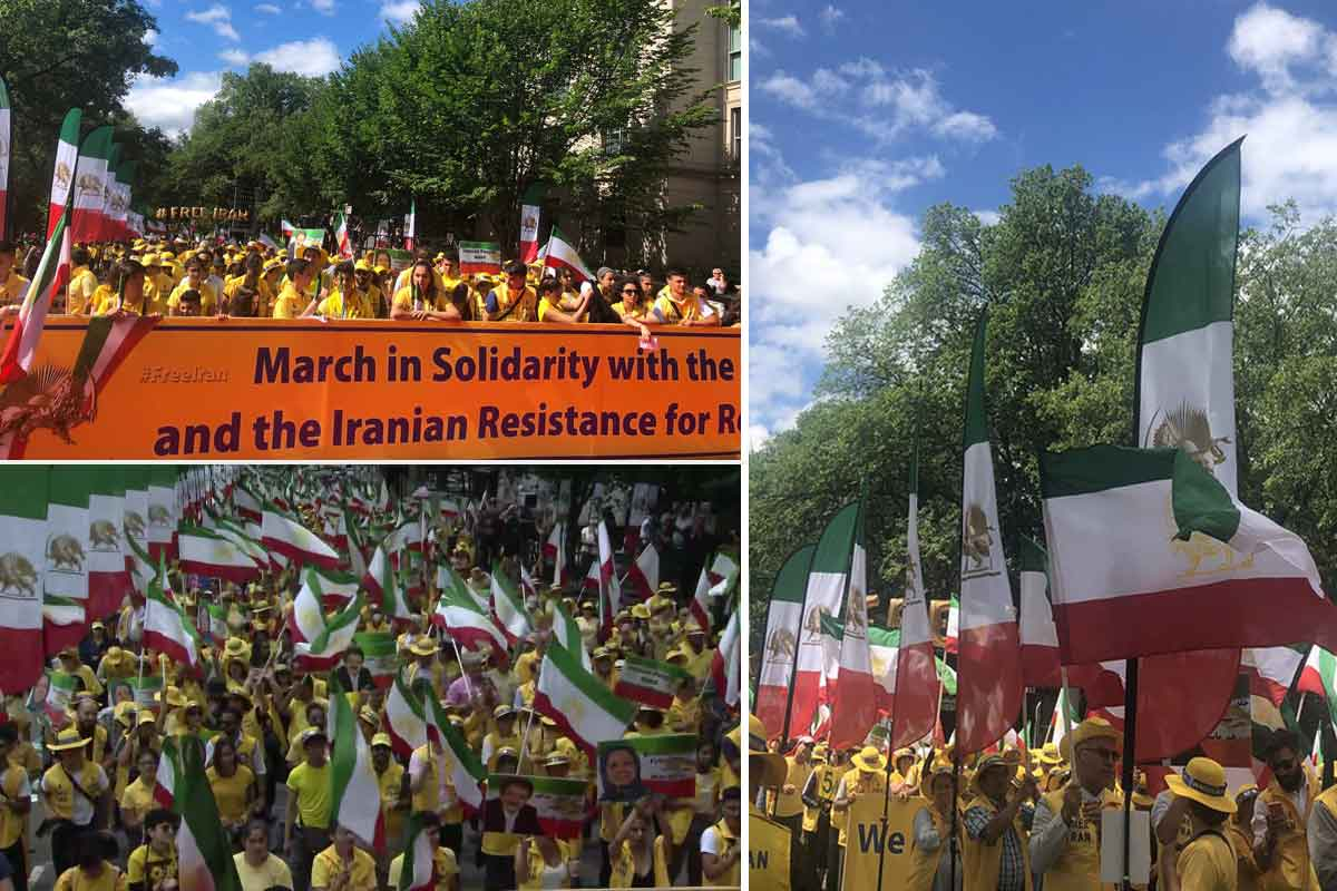 Maryam Rajavi: The Iranian nation hears your anthems and your cries for freedom