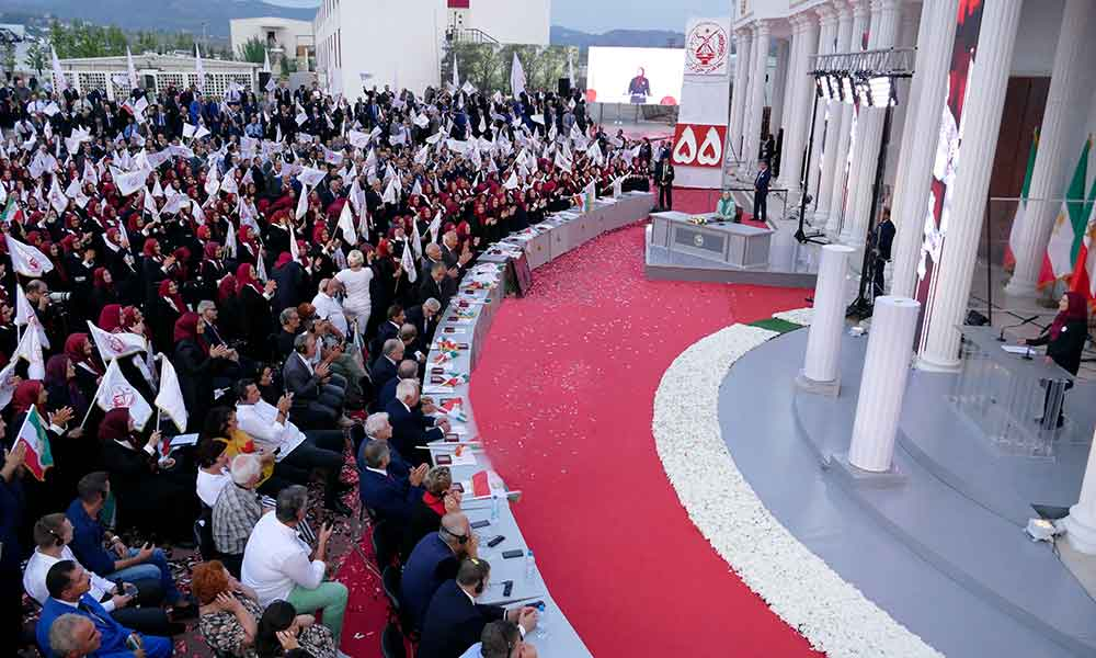 Excerpts from remarks by Maryam Rajavi at Ashraf 3 on the anniversary of the founding of the People's Mojahedin Organization of Iran