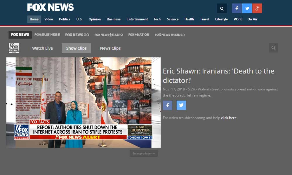 FOX NEWS: Iranians: 'Death to the dictator!'