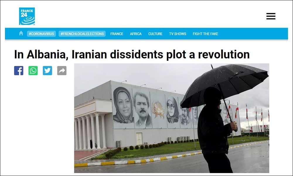 In Albania, Iranian dissidents plot a revolution