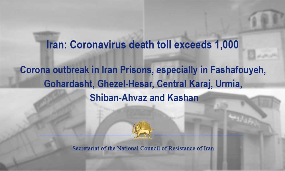 Iran: Coronavirus death toll exceeds 1,000
