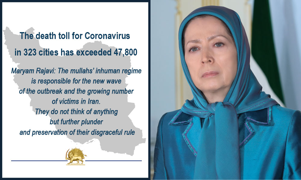 The death toll for Coronavirus in 323 cities has exceeded 47,800
