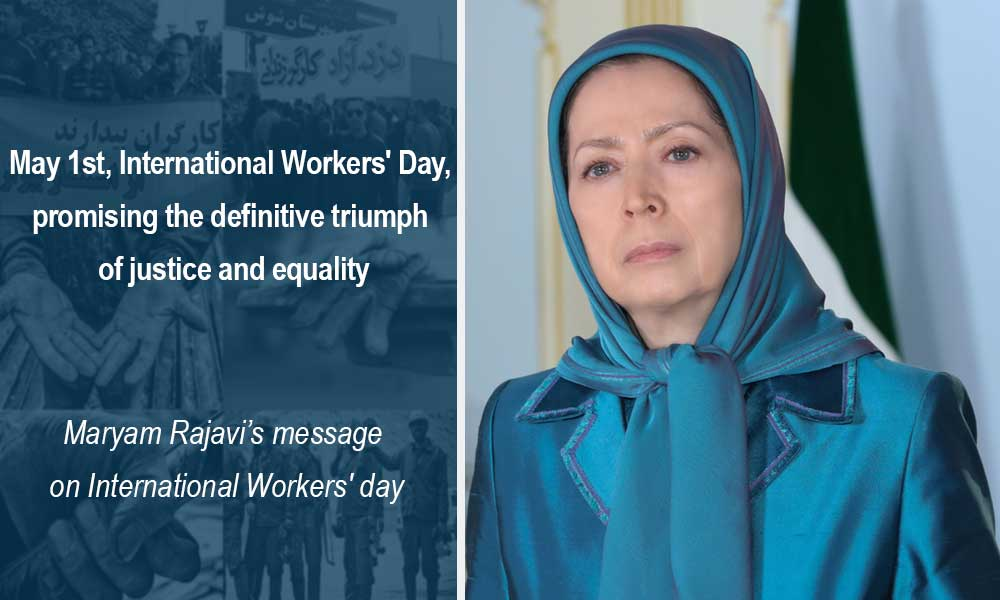 May 1st, International Workers' Day, promising the definitive triumph of justice and equality