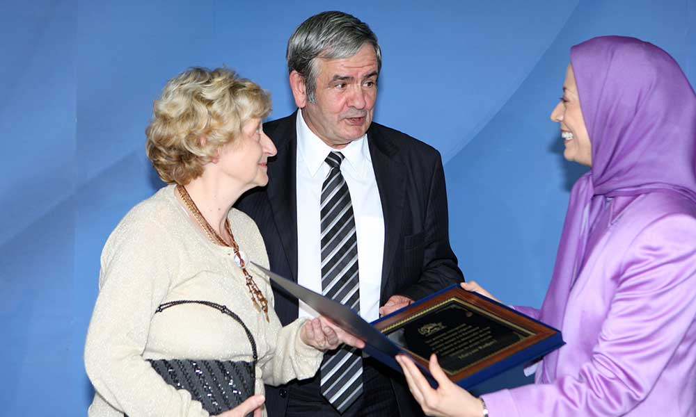 Maryam Rajavi's condolences on the loss of Mr. Manuel Rizquez, a French supporter of the Iranian Resistance