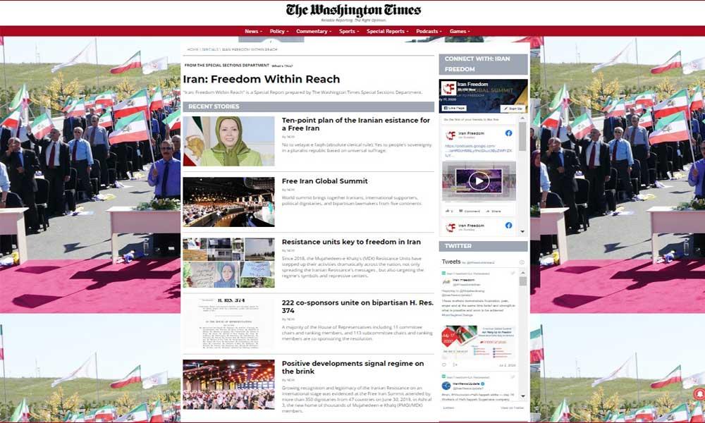 Iran: Freedom Within Reach