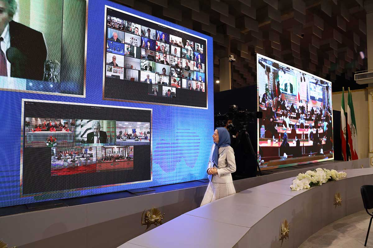 Maryam Rajavi: NCRI is the democratic alternative and the solution for the future of Iran