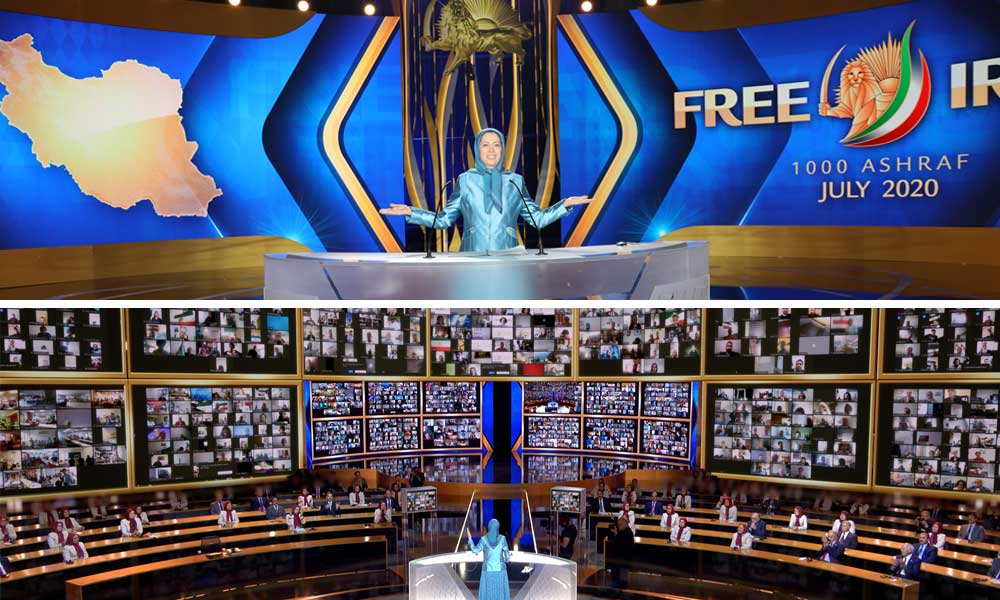 What are the three key pledges of the Iranian Resistance