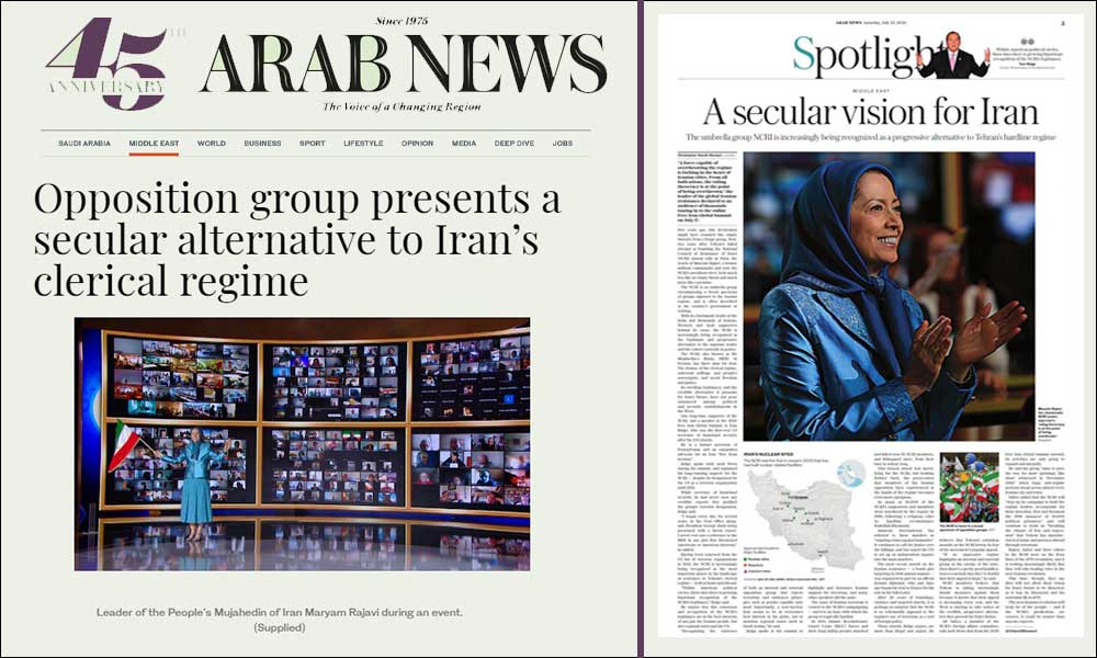 Opposition group presents a secular alternative to Iran's clerical regime
