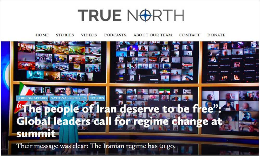 """""""The people of Iran deserve to be free"""": Global leaders call for regime change at summit"""