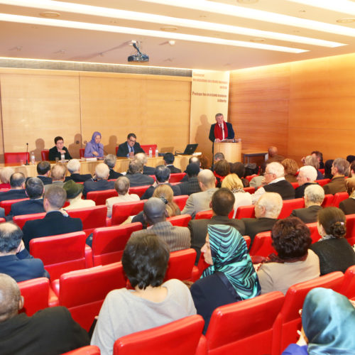 Maryam Rajavi, Senate of France- 21 January 2014