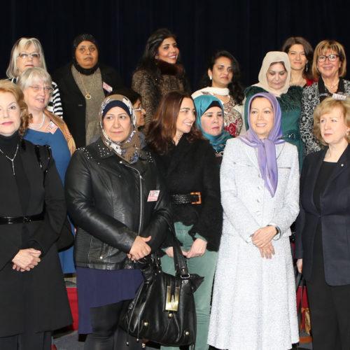 Maryam Rajavi, International Women's Day conference in Paris- 1 March 2014