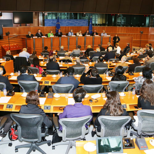 Maryam Rajavi, European Parliament, 9 April 2014