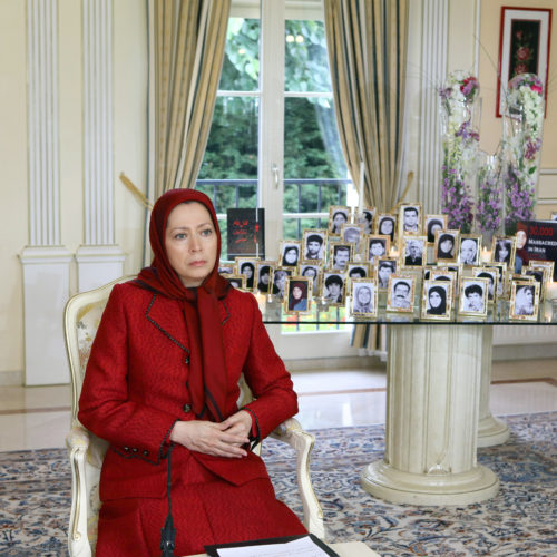 Maryam Rajavi, Iranian opposition leader sent a message commemorating victims of the 1988 massacre of political prisoners in Iran- August 12, 2015