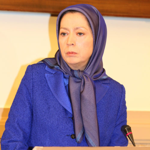 Maryam Rajavi, Conference at the French National Assembly- 27-10-2015