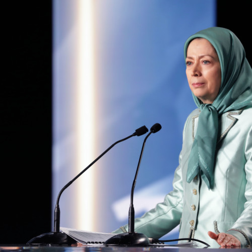 "Maryam Rajavi attends IWD Conference entitled, ""Iran uprising and role of women"" – February 17, 2018"