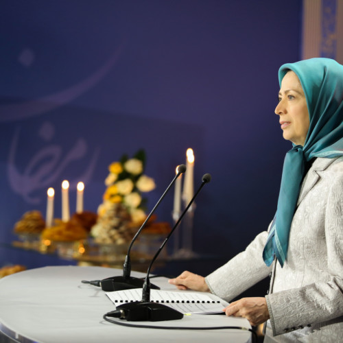 Maryam Rajavi at Iftar gathering- May 19, 2018