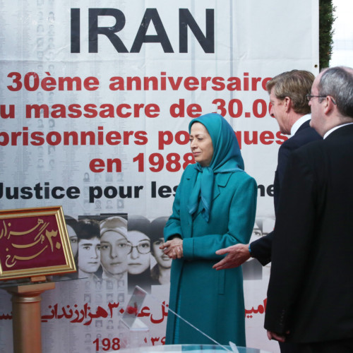 Iranian communities' global conference upholds 30th anniversary of the massacre of 30,000 political prisoners- August 25, 2018