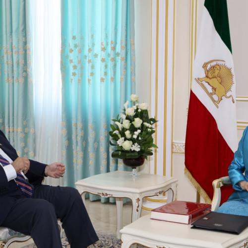 Maryam Rajavi's meetings