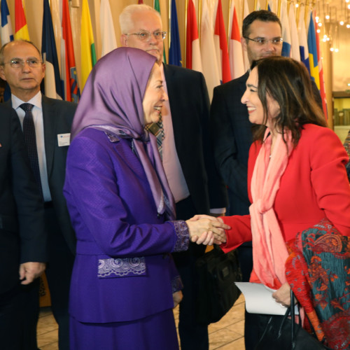 Maryam Rajavi's speech at the Parliament of Europe – Presentation of the book on the 1988 massacre of political prisoners in Iran- October 23, 2019