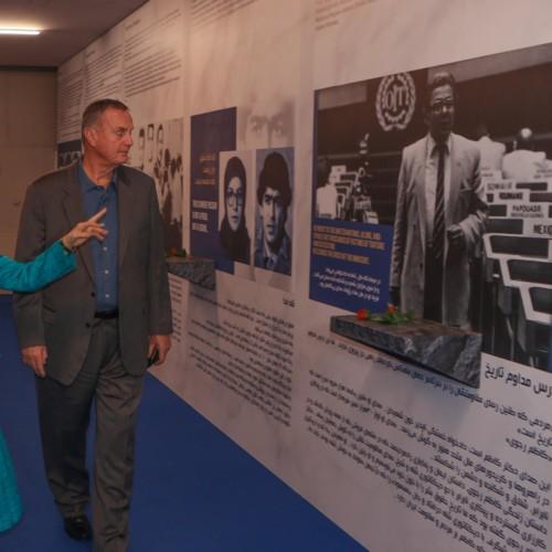 General James Jones meets Maryam Rajavi, visits Ashraf 3- November 17, 2019