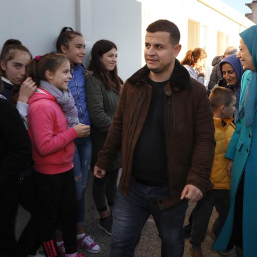 Maryam Rajavi visits victims of earthquake in Albania- December 2019