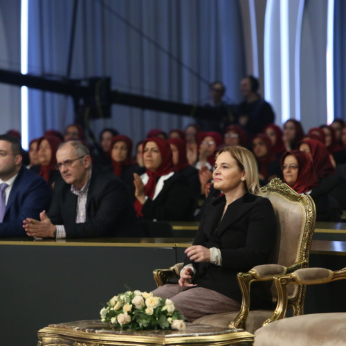 Mrs. Monika Kryemadhi and a delegation from the Socialist Movement for Integration Party visited Ashraf-3 and met with Maryam Rajavi - January 29, 2020