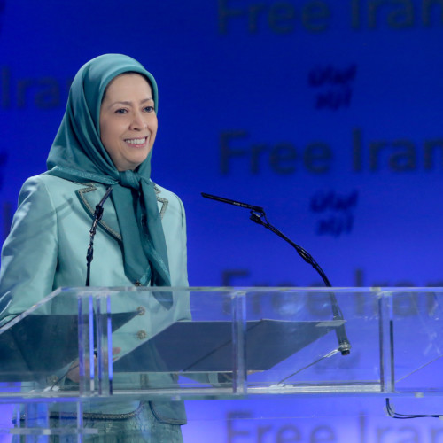 Maryam Rajavi's speech at Ashraf 3 during the visit by Mrs. Monika Kryemadhi and a delegation from the Socialist Movement for Integration Party