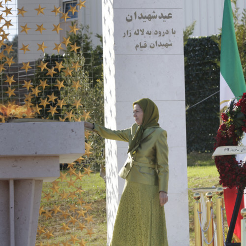Lighting up the beacon of martyrs on the New Persian Year – Nowruz 1399
