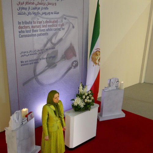 Commemorating the selfless physicians and nurses, and other victims of the Coronavirus catastrophe in Iran
