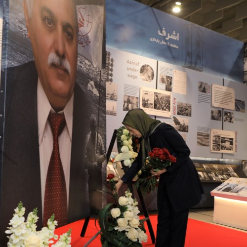Paying tribute to the fallen PMOI member, Hossein Mojtahedzadeh, one of the prominent members and commanders of the People's Mojahedin Organization of Iran