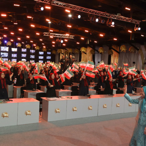 Maryam Rajavi at the 40th anniversary of the start of Iranian people's nationwide resistance, Day of Martyrs and Political Prisoners- June 20, 2020