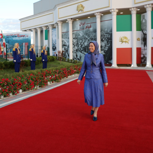 Maryam Rajavi at the Call-for-Justice virtual conference in the Free Iran Global Summit - July 19, 2020