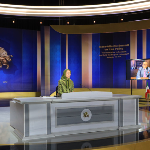 Maryam Rajavi addresses conference held on the eve of the UN General Assembly Summit – September 18, 2020