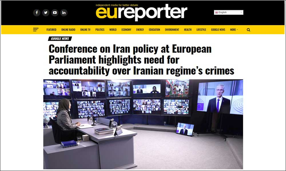 Conference on Iran policy at European Parliament highlights need for accountability over Iranian regime's crimes