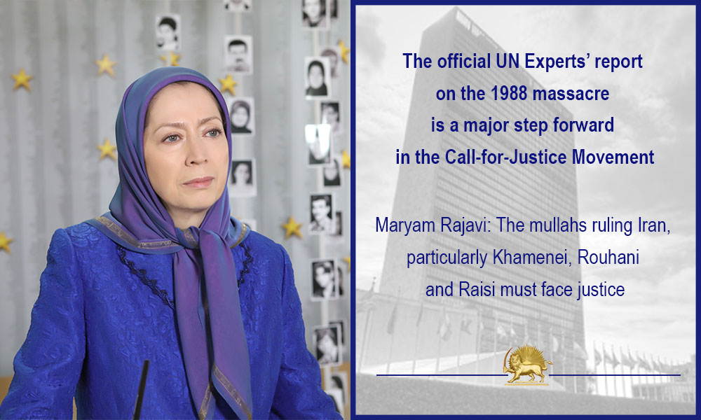 The official UN Experts' report on the 1988 massacre is a major step forward in the Call-for-Justice Movement