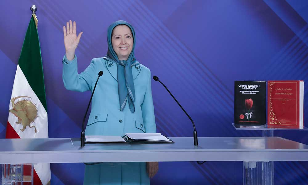 Maryam Rajavi: No to the Death Penalty, No to the Religious Dictatorship in Iran