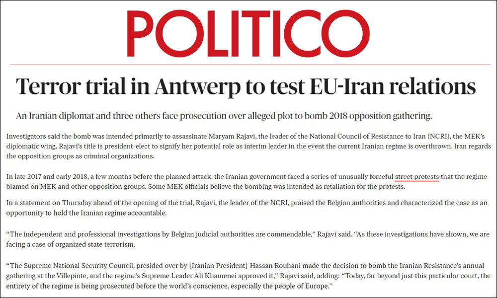 Terror trial in Antwerp to test EU-Iran relations