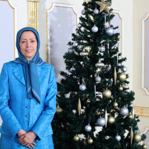Maryam Rajavi's message for Christmas and New Year 2021