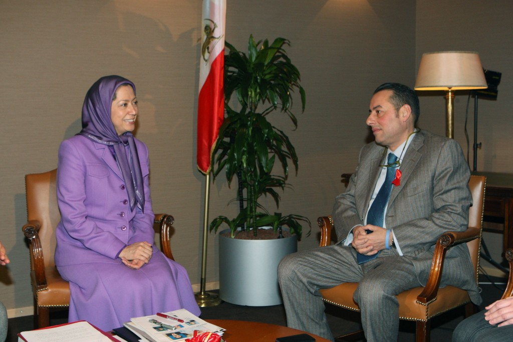 Meeting with Italian MEP and EPVP