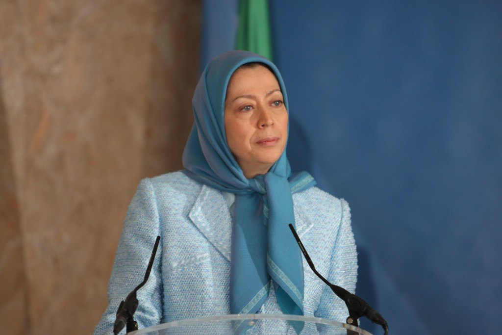 Speech by Maryam Rajavi to the Iranian Rally in front of European Union headquarters in Brussels