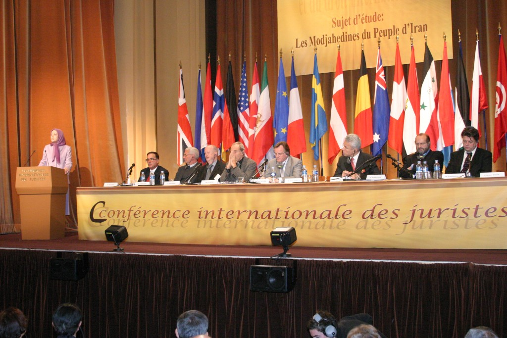 Maryam Rajavi's address at the International Conference of Jurists, in Paris