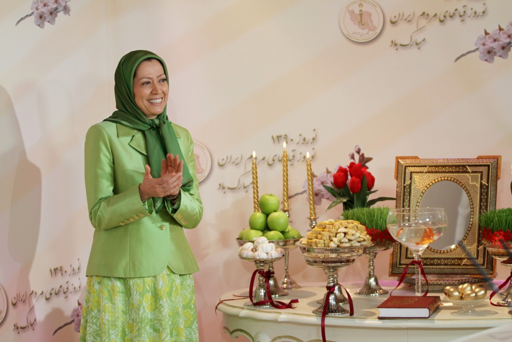 Maryam Rajavi: Nowrouz is are a celebration of solidarity and the blossoming of human bonds
