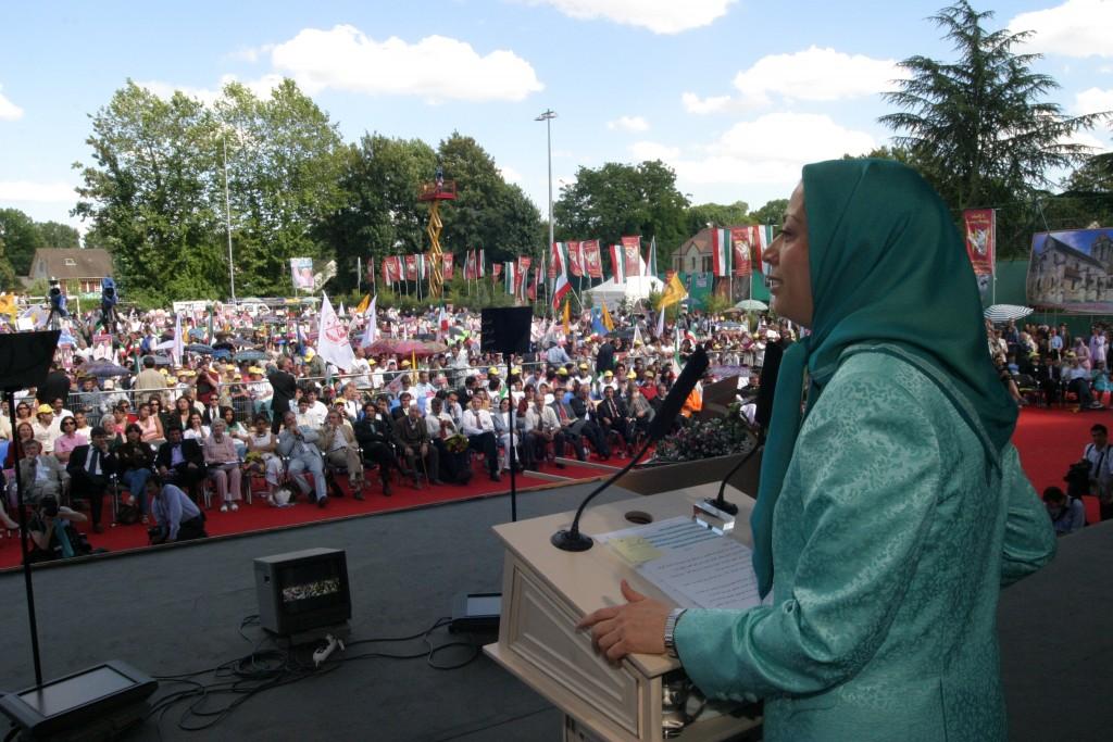 Maryam Rajavi's address at the gathering on June17, 2004 – Auvers-sur-Oise
