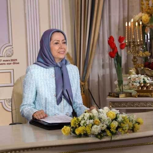 Online conference featuring Maryam Rajavi, France's elected representatives as well as social and political dignitaries – Auvers-Sur-Oise – March 27, 2021