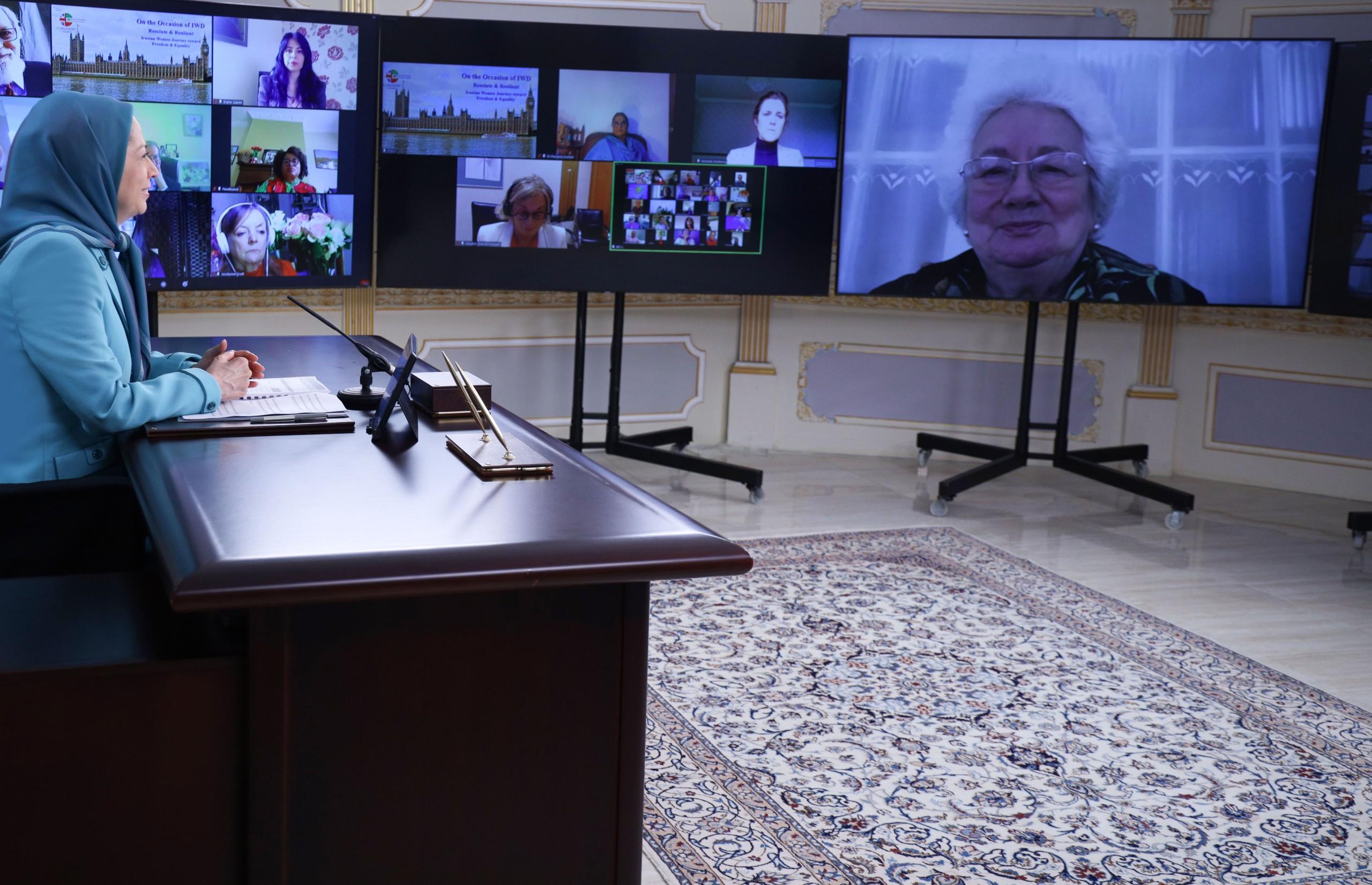 Maryam Rajavi: I urge all advocates of gender equality to support the arisen women of Iran