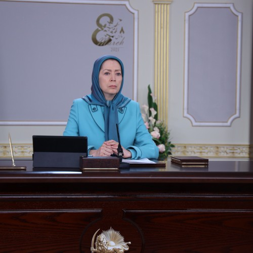 Maryam Rajavi's Message to the  virtual conference in the UK on International Women's Day - March 8, 2021