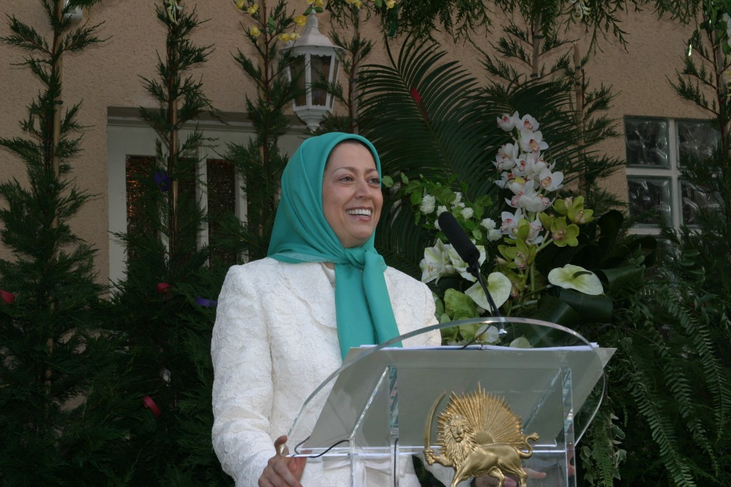 """Maryam Rajavi: """"A song for Iran"""" links the Iranian People to the People of Greece"""